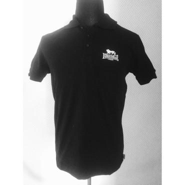 Poloshirt - Lonsdale - Acton - black – Image 1