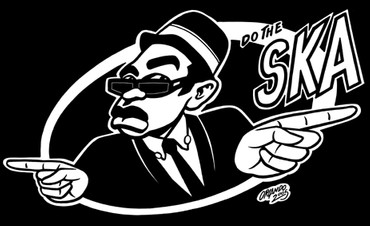 T-Shirt - Do the Ska - schwarz