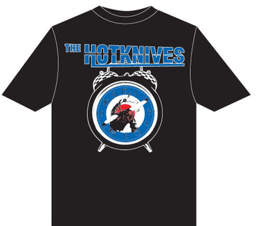 Bandshirt- Hotknives- About Time