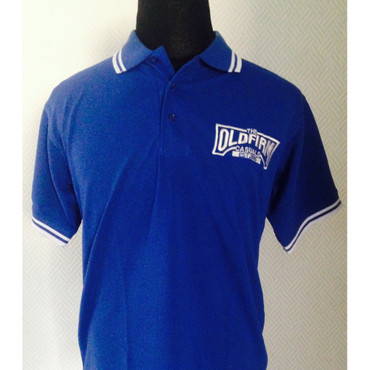 Poloshirt - The Old Firm Casuals - blau