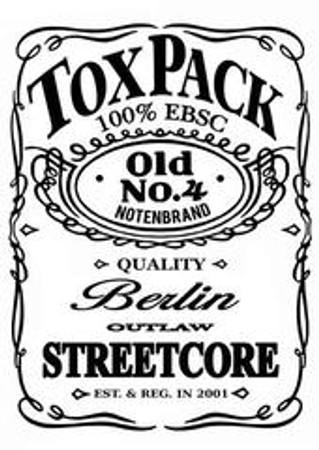 T-Shirt - Toxpack - ToxDaniels - weiß