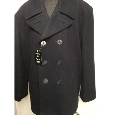 US Pea Coat - darkblue/ black