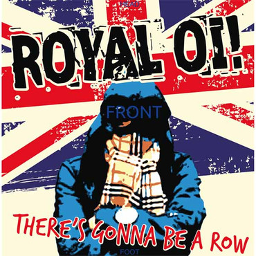 Royal Oi! - Theres gonna be a riot - LP - blau