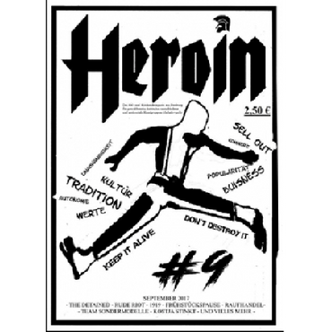 Fanzine - Heroin - Nummer 9