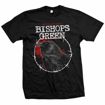 T-Shirt - Bishops Green - Back to the Roots - schwarz
