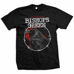 T-Shirt - Bishops Green - Back to the Roots - black