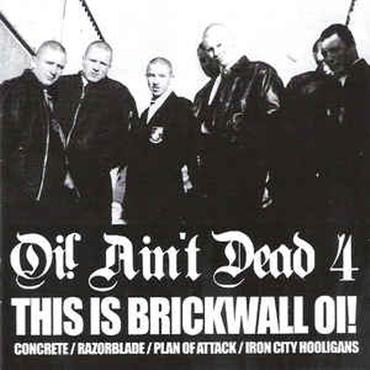 Sampler - Oi! ain't dead - Vol 4 - CD