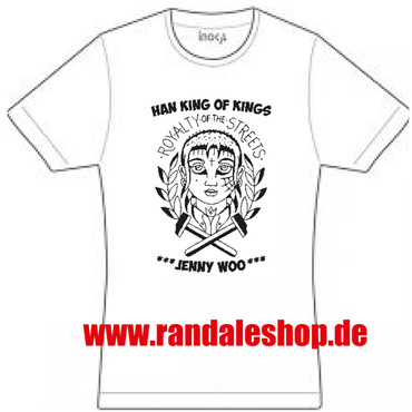 T-Shirt - Jenny Woo / Han Kings of Kings - weiß