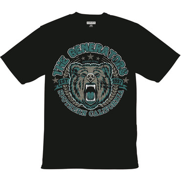 T-Shirt - The Generators - Bear - black