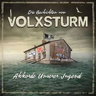 Die Geschichten von Volxsturm - Akkorde unserer Jugend -  DoLP - gelb/blau