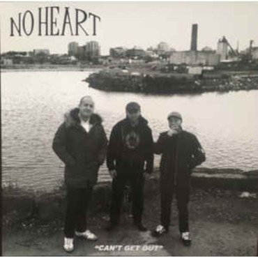 No Heart - Can't get out - LP