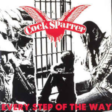 Cock Sparrer - Every Step of the way - Single - rot