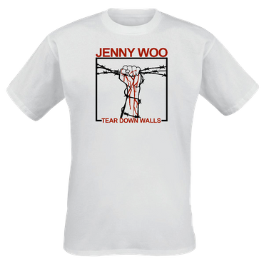 T-Shirt - Jenny Woo - Tear Down Walls