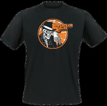 Girlie - T-Shirt - Lower Class Brats - Orange