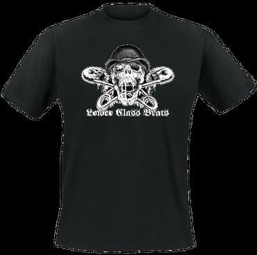 T-Shirt - Lower Class Brats - Skull