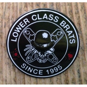 Hartmetall Pin - Lower Class Brats - Since 1995
