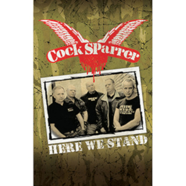 Tape - Cock Sparrer - Here We Stand