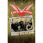 Kassette - Cock Sparrer - Here We Stand 001
