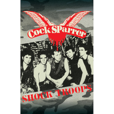 Kassette - Cock Sparrer - Shock Troops