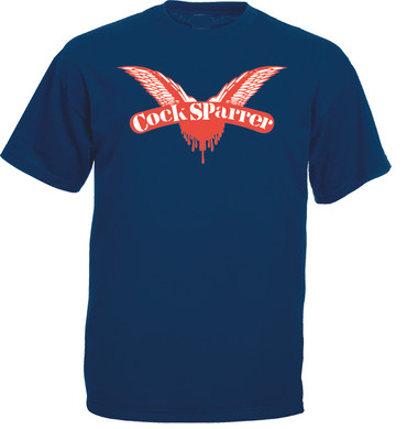 T-Shirt - Cock Sparrer - Wings - blue