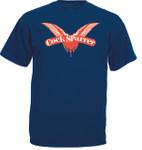 T-Shirt - Cock Sparrer - Flügel - blau