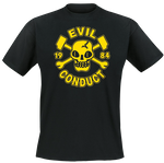 Girlie - T-Shirt - Evil Conduct - Skull 1984