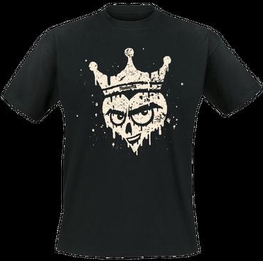 T-Shirt - Trabireiter - Herzlich - schwarz