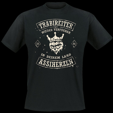 Lady T-Shirt - Trabireiter - Assiherzen
