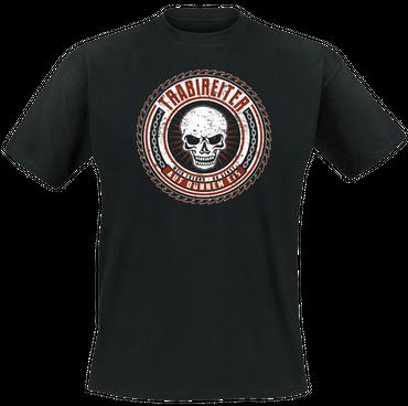 T-Shirt - Trabireiter - Dünnes Eis - schwarz