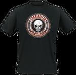T-Shirt - Trabireiter - Dünnes Eis - black