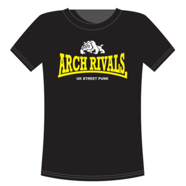 T-Shirt - Arch Rivals - UK Streetpunk - black