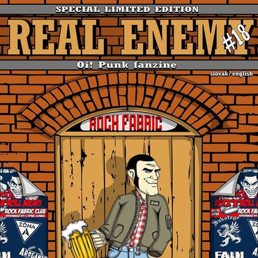 Fanzine - Real Enemy - No. 18