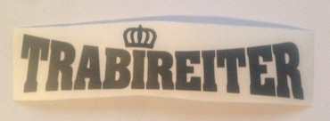 Car sticker - Trabireiter - small - black