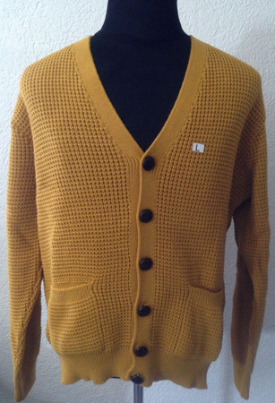 Cardigan - Relco - yellow