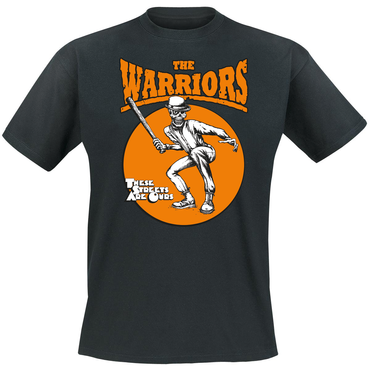 T-Shirt - The Warriors - these streets are ours - schwarz