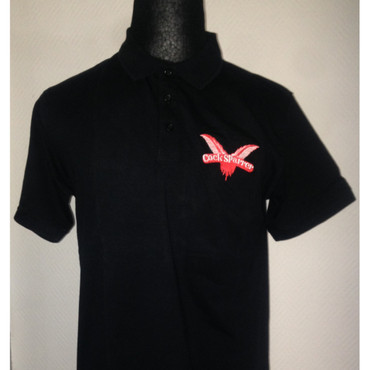 Poloshirt - Cock Sparrer - schwarz