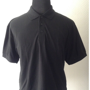 Poloshirt - Fruit of the Loom - schwarz