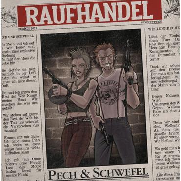 Raufhandel - Pech & Schwefel - CD