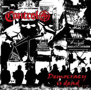 Control - Democracy is dead - LP - rot