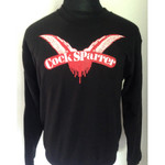 Sweatshirt - Cock Sparrer - Wings - black