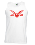 Muscle Shirt - Cock Sparrer - Wings - white
