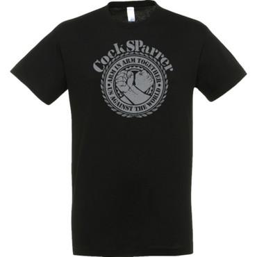 T-Shirt - Cock Sparrer - Arm in Arm - schwarz