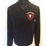 Knitted Pullover - Cock Sparrer - Lion - black 001