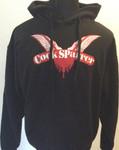 Kapuzenpullover - Cock Sparrer - Flügel - schwarz