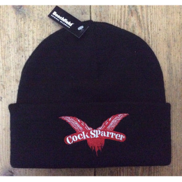 Knitted Cap - Cock Sparrer - Wings