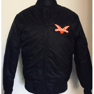 Bomber jacket - Cock Sparrer - Wings - black