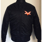 Bomber jacket - Cock Sparrer - Wings - black 001