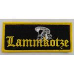 Aufnäher - Lammkotze - Logoschrift