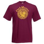T-Shirt - Cock Sparrer - Arm in Arm - bordo - Übergröße 001