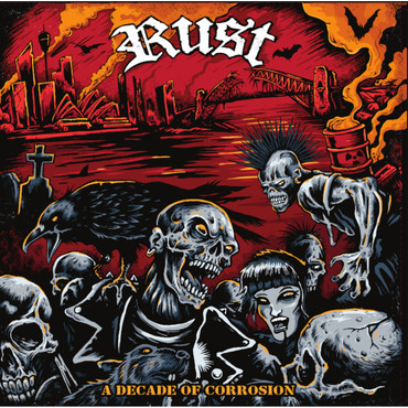 Rust - A decade of corrosion - LP - limited – Image 1